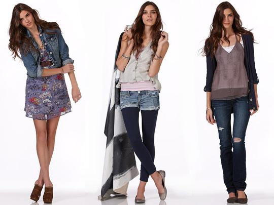 Летняя одежда для худых девушек