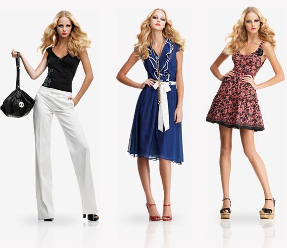 Фото: одежда для стройных девушек на лето