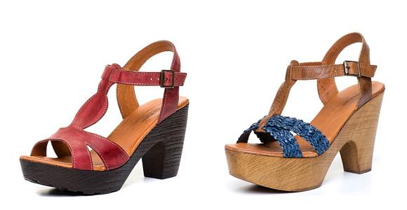 Фото: модели босоножек с каблуком