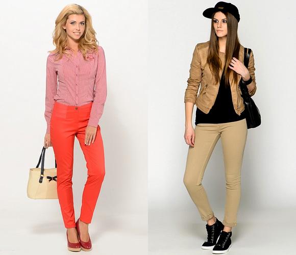 Фото: модные цвета брюк
