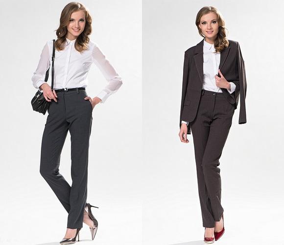 Фото: классические модели брюк