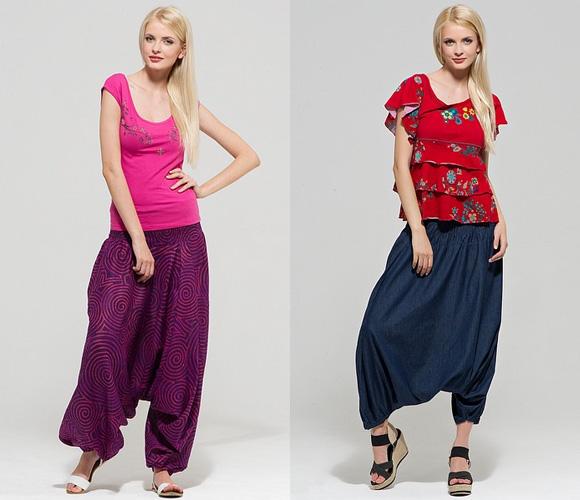 Фото: модные брюки галифе