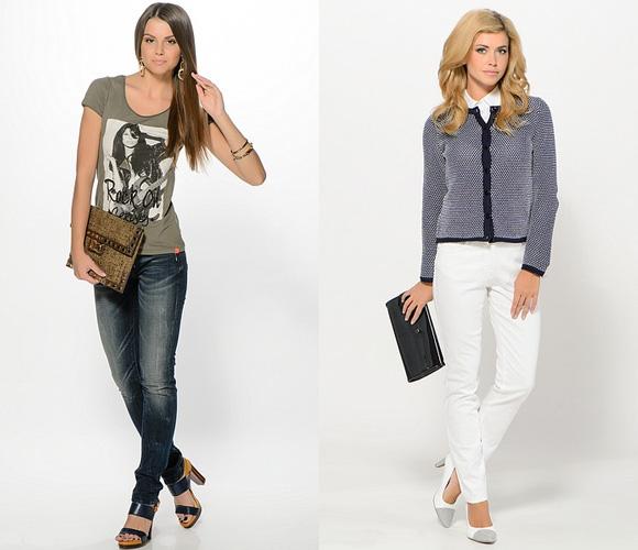 Фото: популярные цвета джинсов