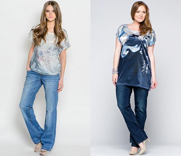 Фото: джинсы-бойфренды