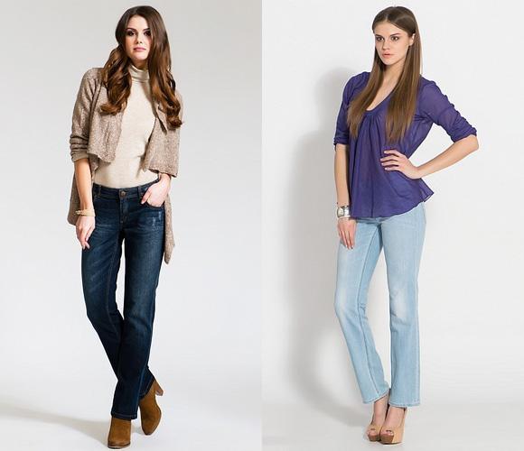 Фото: джинсы классика