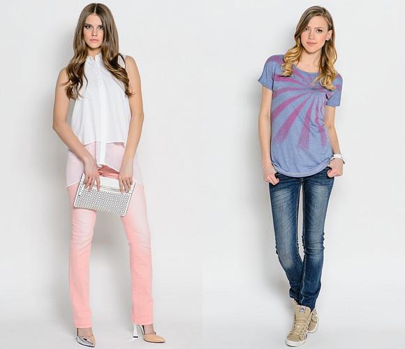 Фото: узкие джинсы на лето
