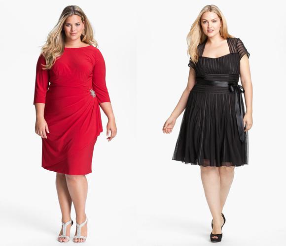 Фото: платья для полных женщин