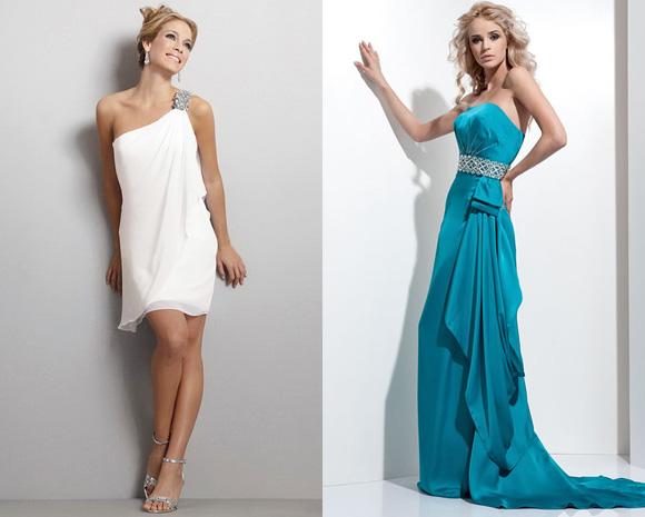 Фото: выпускные платья в греческом стиле