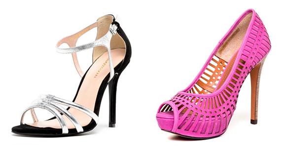 Фото: модные формы каблука