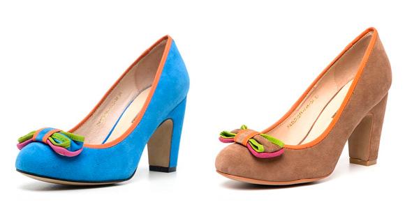 Фото: женская обувь от Mulberry и Mary Katranzou