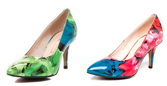 Фото: разные формы каблуков