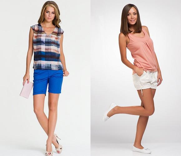 Фото: оригинальные женские шорты