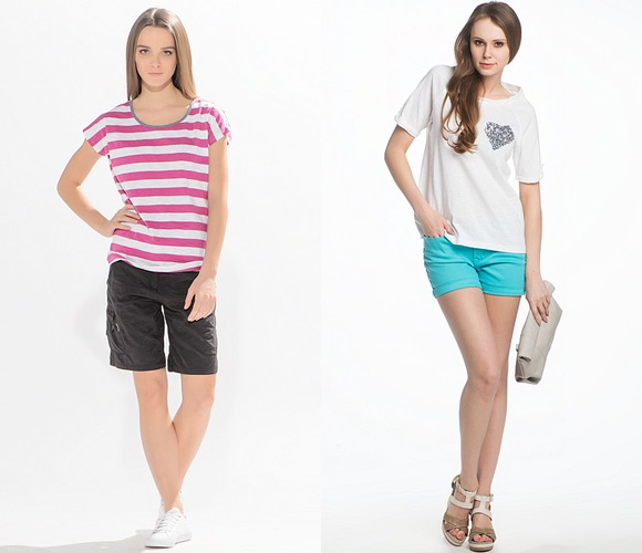 Фото: короткие модели шорт