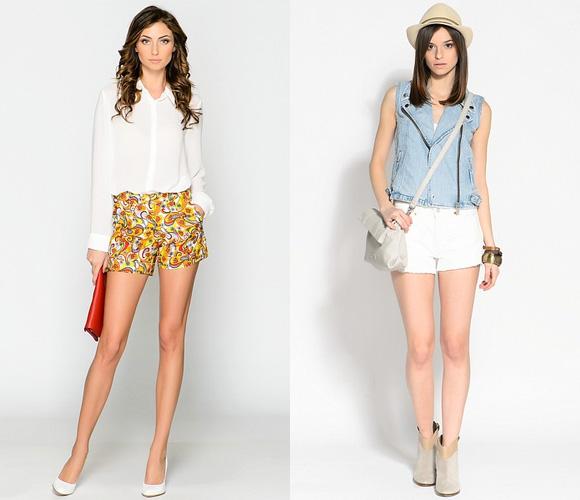 Фото: модели женских шорт