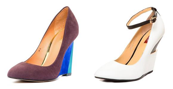 Фото: модные женские туфли на платформе