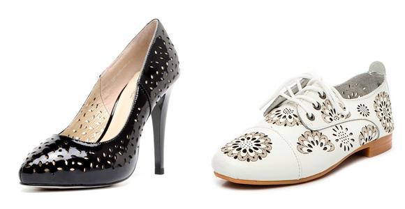 Фото: принты и узоры туфель