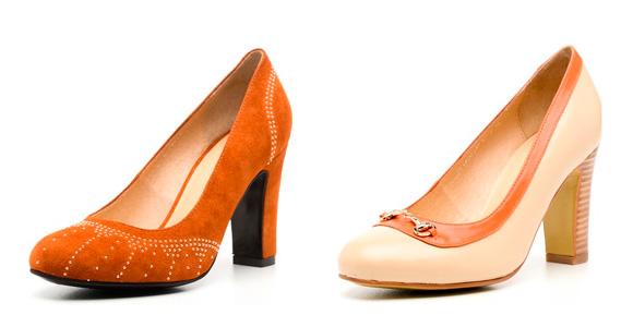Фото: варианты каблуков туфель