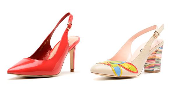 Фото: туфли с ремешком вокруг щиколотки