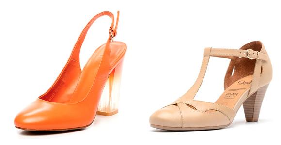 Фото: туфли с объемным бантом на пряжке
