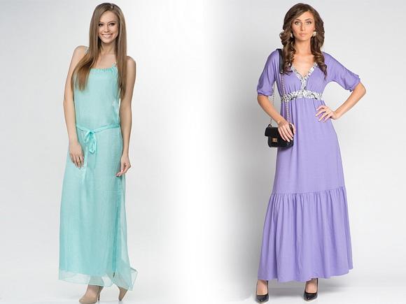 Фото: платья с сеткой