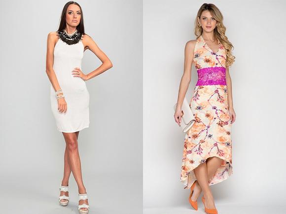 Фото: длинные платья на лето