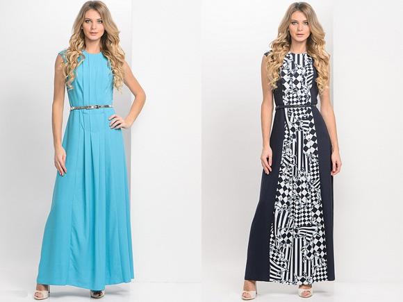 Летние платья из легкой ткани