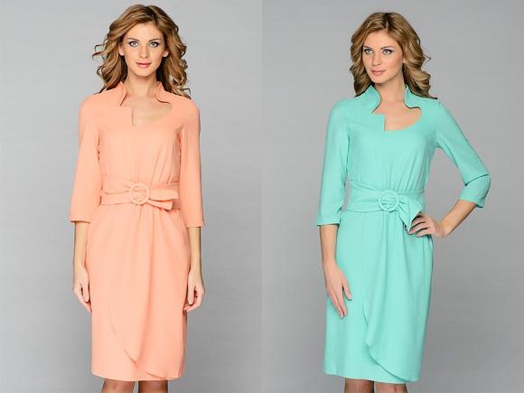 Платья длиной до колена