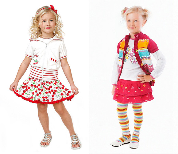 Фото: юбки для девочек 5-6 лет