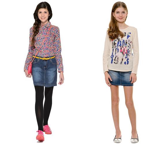 Фото: юбки для девочек 15 лет