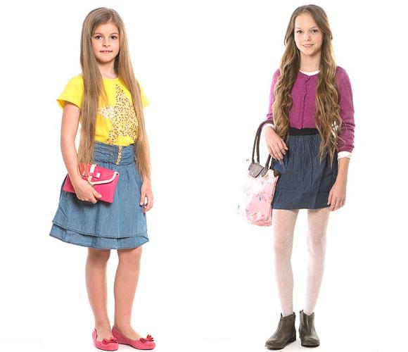 Фото: юбки для девочек 10 лет