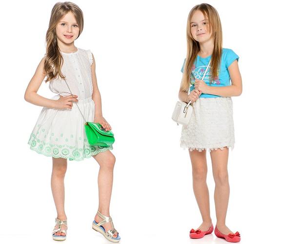 Фото: кружевные юбки для девочек