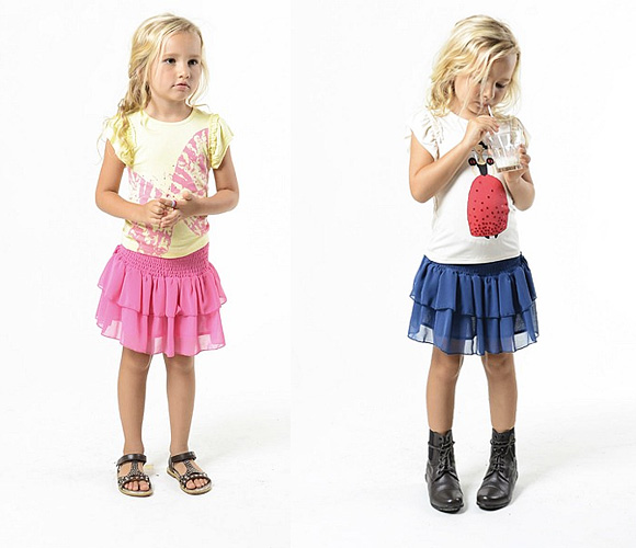как сдать детская пышные юбка: