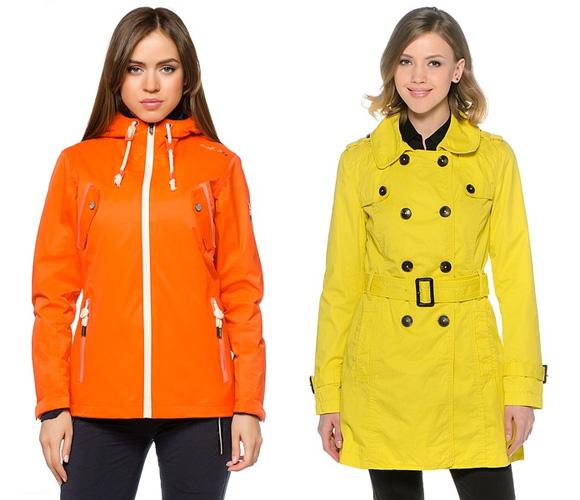 Яркие оттенки оранжевого и желтого в одежде