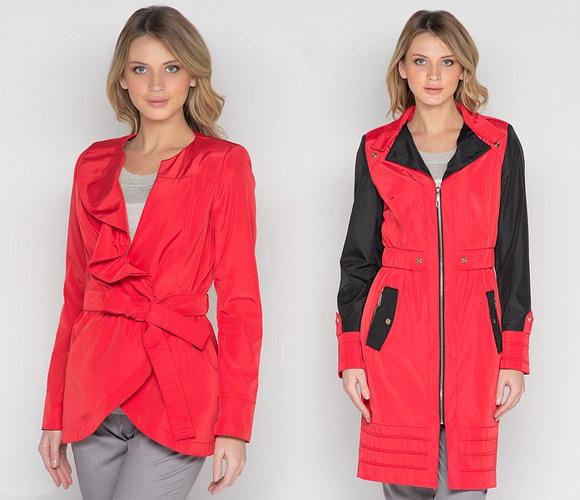 Цвет Красная Аврора в одежде