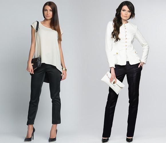 Фото: модные женские брюки в коллекциях Costello, John Galliano, Sass & Bide, Tagliapietra