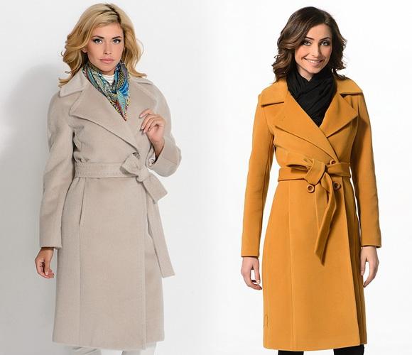 Фото: модные пальто оверсайз