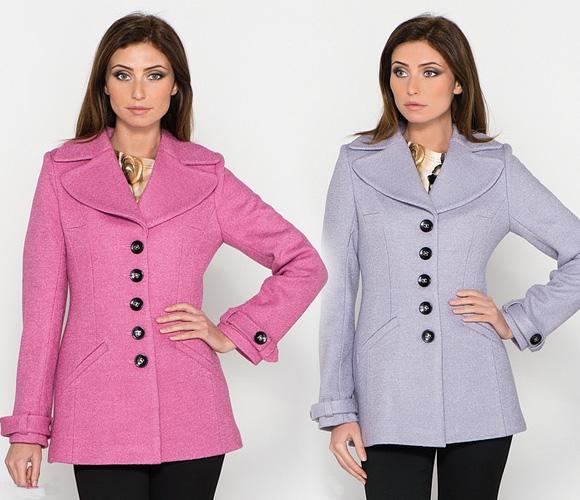 Фото: классические модели пальто