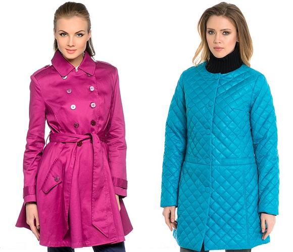 Фото: цветовые решения пальто