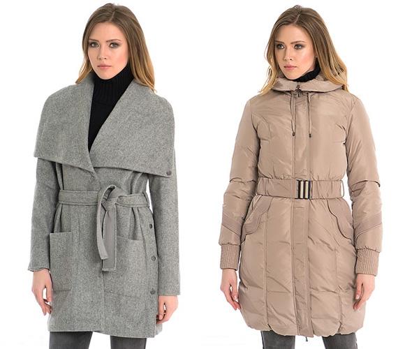Фото: модные цвета пальто