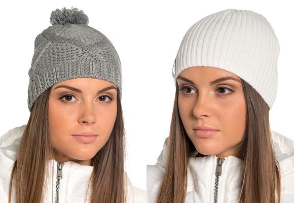 Фото: модные вязаные шапки