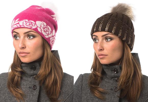 Вязаные шапки сезона осень зима 2014 2015