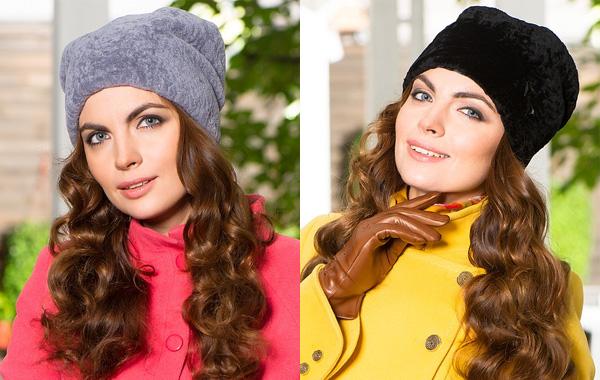 Фото: модные меховые шапки зима 2014-2015