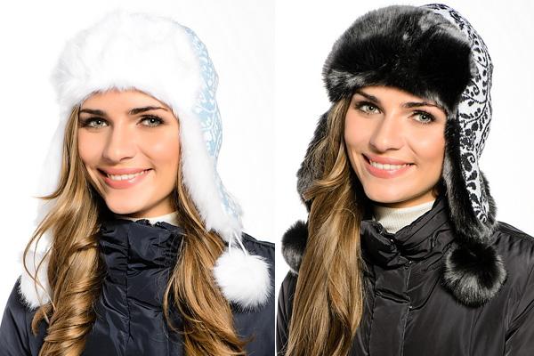 Фото: модные меховые зимние шапки 2015