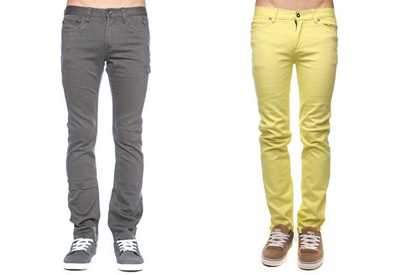 Фото: мужские зауженные джинсы