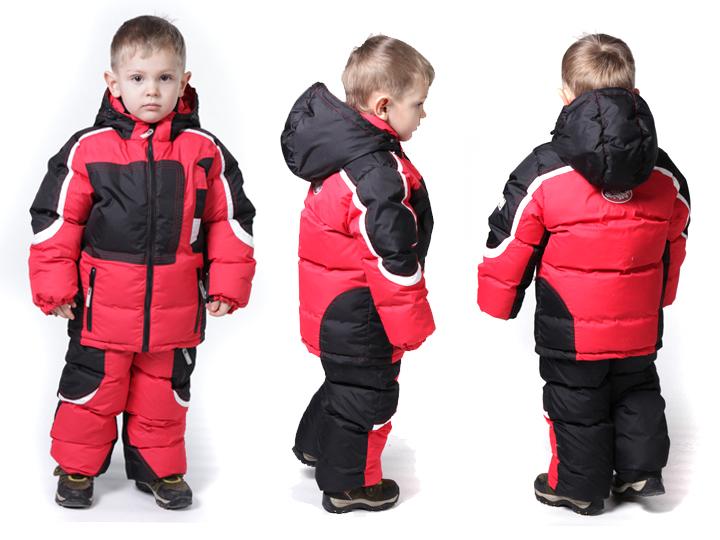 Комбинезоны для детей: зима