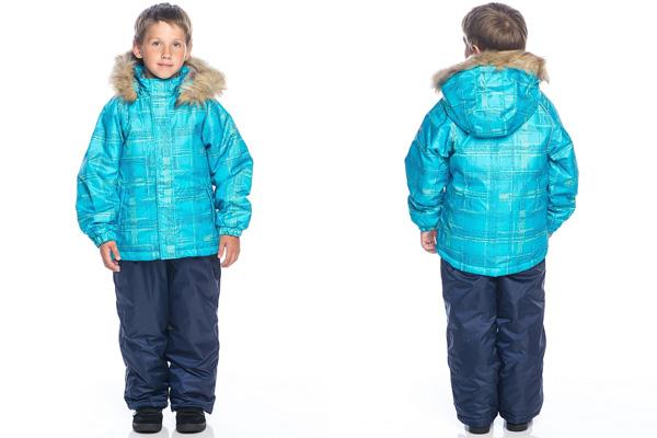 Модные детские комбинезоны: зима