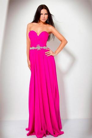 Вечерние платья яркого насыщенного цвета