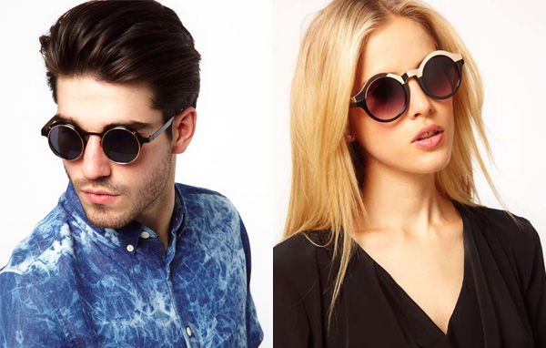 Круглые солнцезащитные очки от Phillip Lim